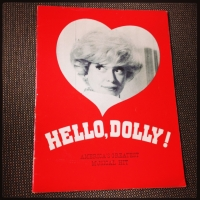 Hello Dolly program (with Carol Channing)
