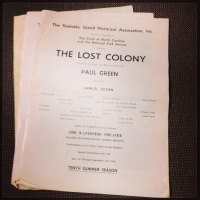 3 Lost Colony Programs (Featuring Andy Griffith)